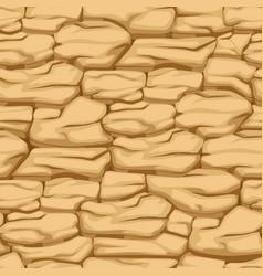 Cracked pattern earth seamless texture desert vector