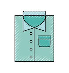 Laundry garments isolated icon vector