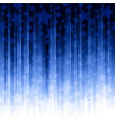 vertical stripes with stars vector image vector image