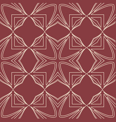art deco seamless pattern vector image