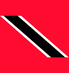 flag of trinidad and tobago national symbol vector image