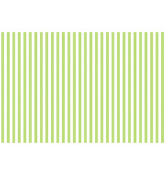 Green white striped fabric texture seamless vector