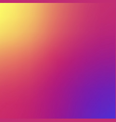 smooth blurred gradient insta background vector image
