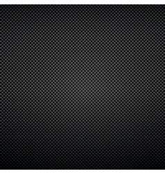 Black background of carbon fibre texture vector image vector image