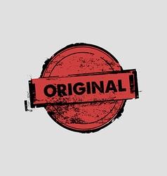 Original stamp badges vector image vector image