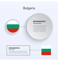 Bulgaria Country Set of Banners vector