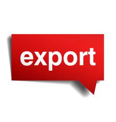Export vector