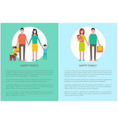 family parents motherhood vector image