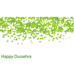 happy dussehra background concept vector image