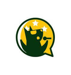 karaoke music logo icon design vector image