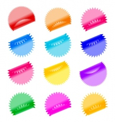 labels badges and stickers vector image