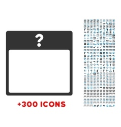 Unknown Day Icon vector