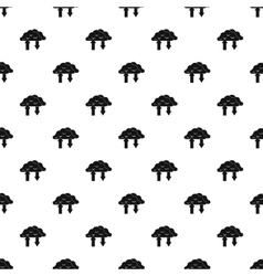 Upload and download data pattern simple style vector