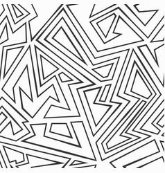Monochrome maze seamless pattern vector