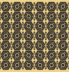 abstract art deco vector image vector image