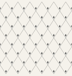 Abstract seamless pattern of rhombuses vector