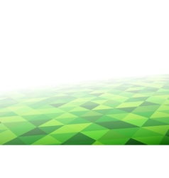 Geometric mosaic pattern in perspective vector image