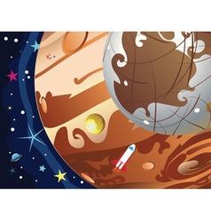 Jupiter Planet3 vector