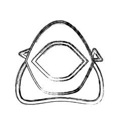 Medical mouth cap vector
