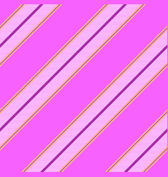 pink princess color striped seamless pattern vector image