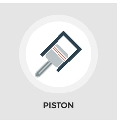 Piston flat icon vector image