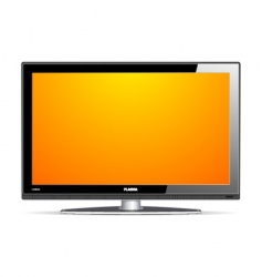 Plasma LCD TV vector