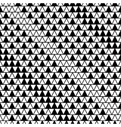 Triangle line seamless pattern vector image