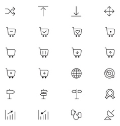 User Interface Icons 25 vector