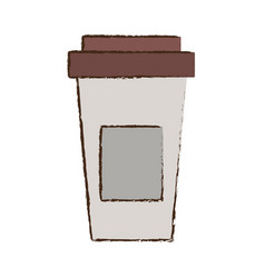 Paper coffee cup fresh vector