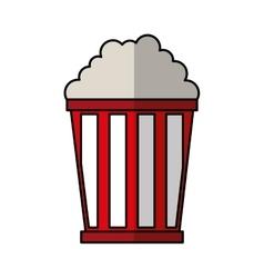 pop corn delicious icon vector image