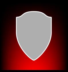 shield vector image