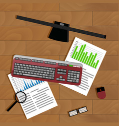 work with graphic vector image vector image
