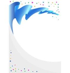 ribbon 01 vector image vector image