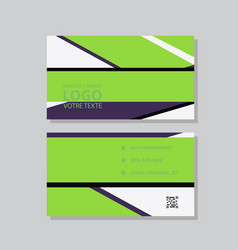 City background business card design template can vector