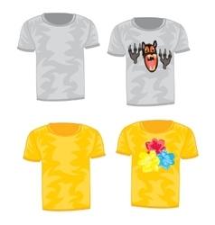 Cloth t-shirt vector
