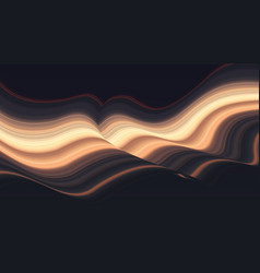 Colorful wave abstract background dynamic vector