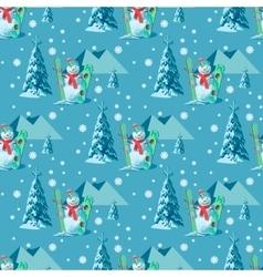 Endless pattern Christmas theme seamless vector
