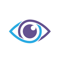 eye icon best flat icon eps 10 vector image