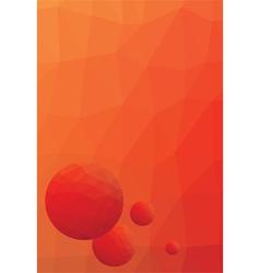 letterhead low polygon vector image