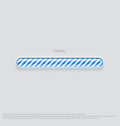 loading web design blue vector image