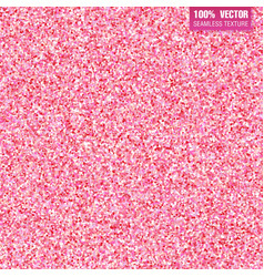 Pink glitter background Seamless pattern vector image