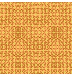 Wave geometric seamless pattern 3007 vector image