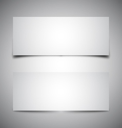 two box shadows vector image