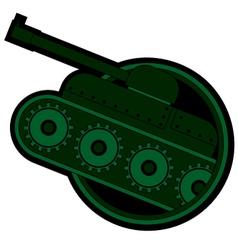 War vehicle vector image