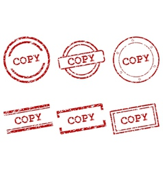 Copy stamps vector image