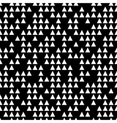 Triangle white seamless pattern vector image vector image