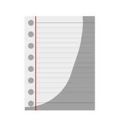 Paper sheet icon vector
