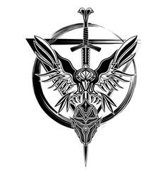 raven 0008 vector image