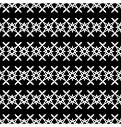 Stars geometric seamless pattern 3107 vector image