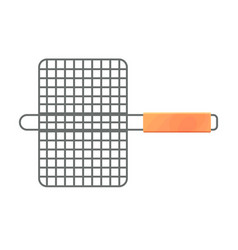 The small grill grid vector